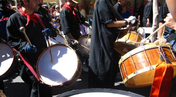 Drumming March Hellin