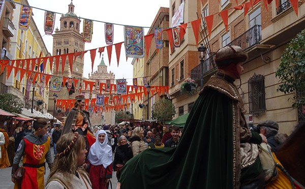 Historical re-enactment of the wedding of Isabel de Segura and the lovers of Teruel